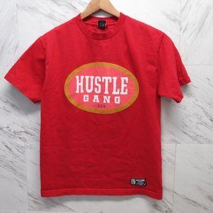 Hustle Gang Medium Red USA Shirt